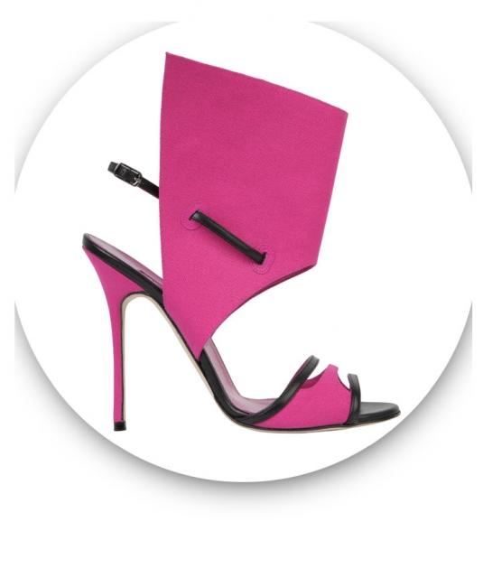 Manolo Blahnik. El arte del zapato – Cortesía del Museo Nacional de Artes Decorativas