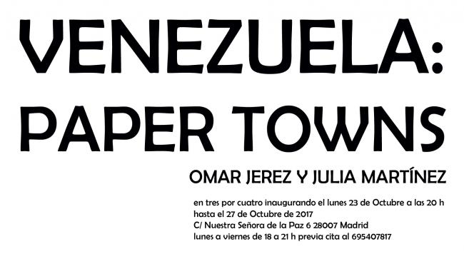 Venezuela: Paper Towns