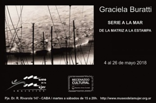 Graciela Buratti. Serie a la mar. De la matriz a al estampa