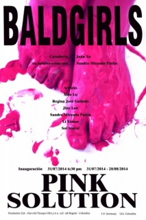"""Bald Girls""- Pink Solution"