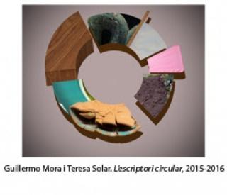 Guillermo y Teresa Solar, L´escriptori circular, 2015-16