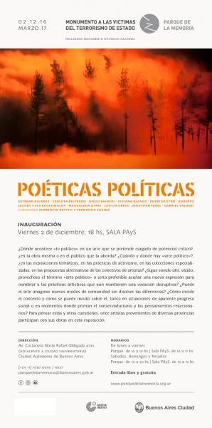Poéticas políticas