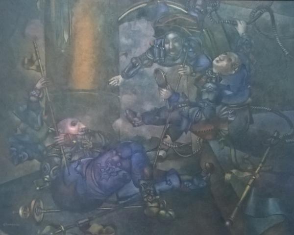 RAMÓN MANZANO | Ir al evento: 'Ramón Manzano'. Exposición de Pintura en José Lorenzo / Santiago de Compostela, A Coruña, España