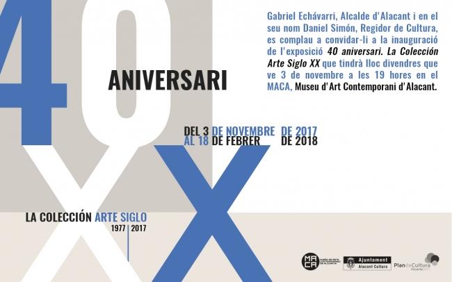 40 aniversario. La Colección Arte Siglo XX