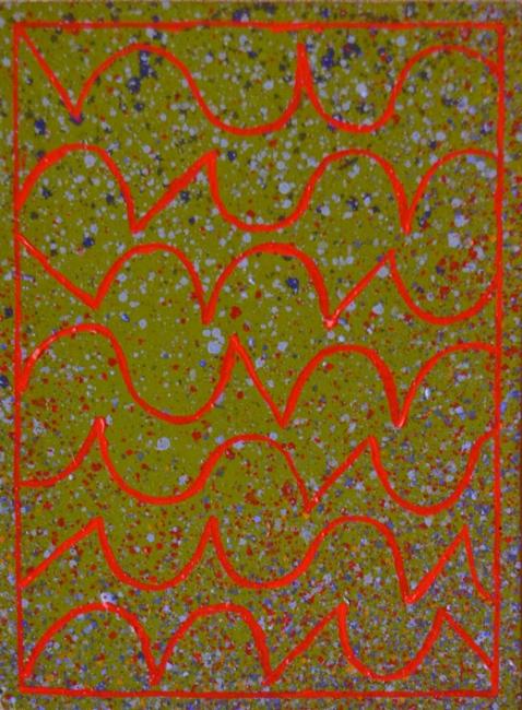Alfredo Alcaín. Rojo horizontal, 2015 – Cortesía de Tiempos Modernos