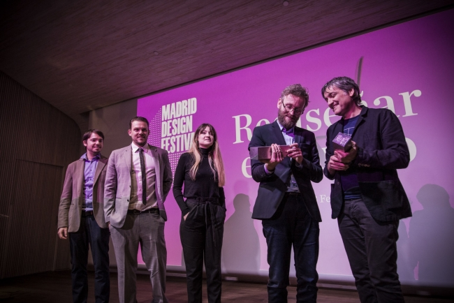Ceremonia de entrega – Cortesía de Madrid Design Festival | Ir al evento: 'Madrid Design Festival Awards 2018'. Premio de Diseño
