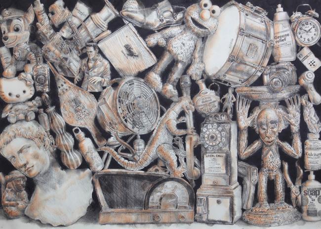 Jairo Alfonso - 44 (Online collection) | Ir al evento: 'Jairo Alfonso - 1.350'. Exposición de Pintura en Galería Artizar / San Cristóbal de La Laguna, Tenerife, España