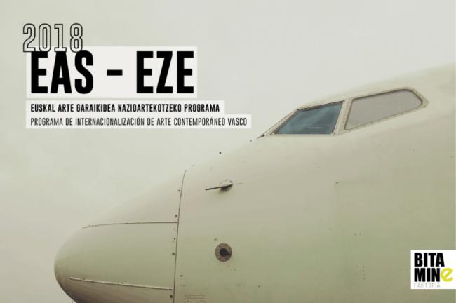 EAS-EZE 2018 - Programa de Internacionalización de Arte Contemporáneo Vasco