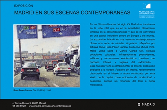 Madrid en sus escenas contemporáneas