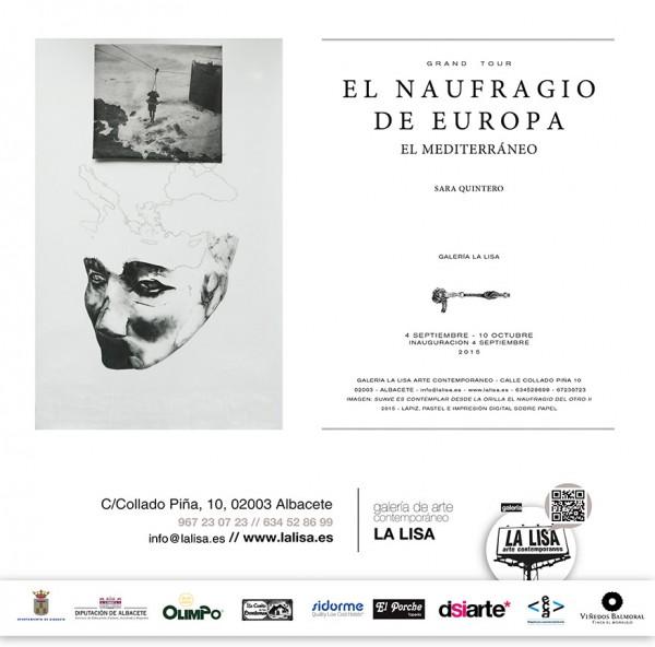 Sara Quintero, El naufragio de Europa. El Mediterráneo