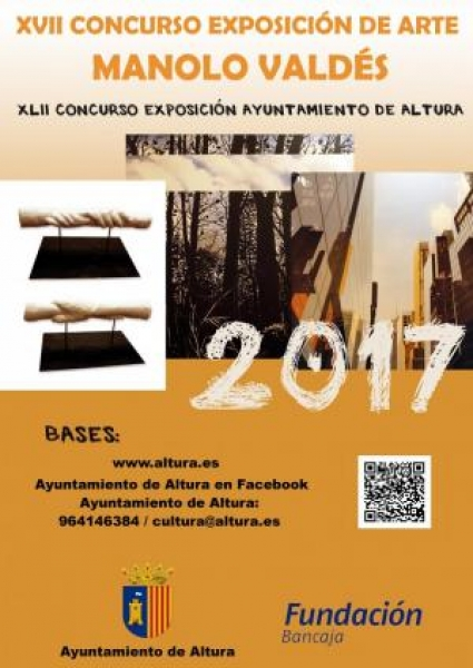 XVII Concurso Exposición de Arte Manolo Valdés 2017