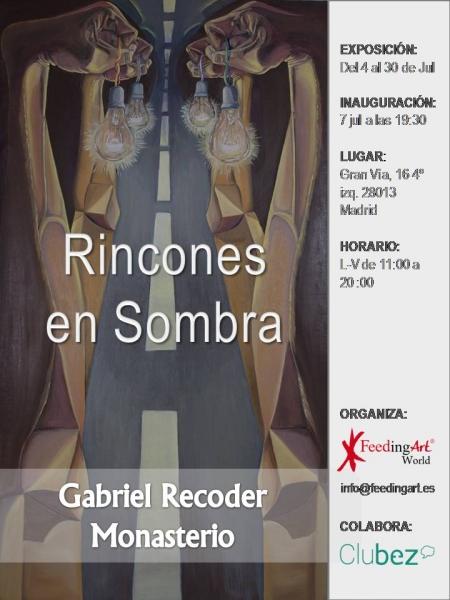 Gabriel Recoder Monasterio. Rincones en Sombra