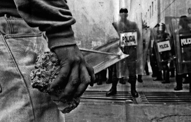 Poner las manos en el fuego: miradas en torno a la violencia – Cortesía de EFTI