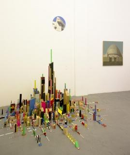 Obras de Nelo Vinuesa, Damián Flores y Carlos García-Alix