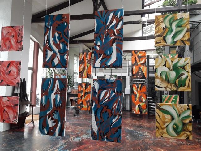imagen sala | Ir al evento: 'Twice'. Exposición de Pintura en Fabrik BBK600 / Salzburg, Austria