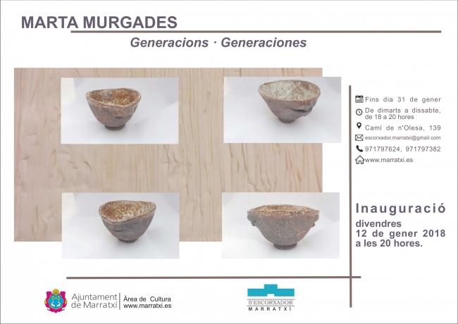 """Marta Murgades """"Generacions"""""""