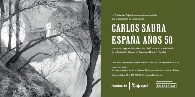 Carlos Saura. España años 50