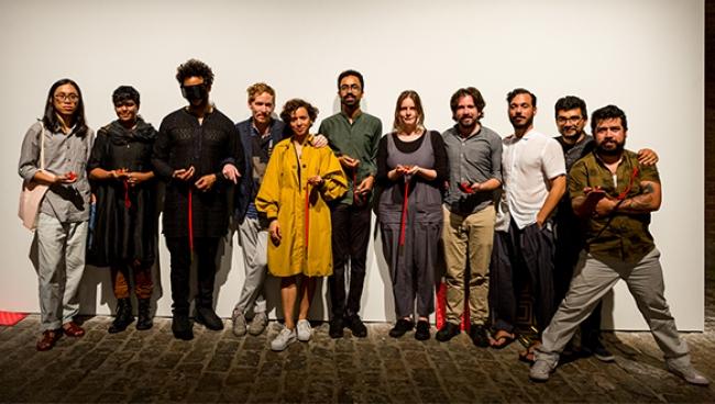 Foto de los ganadores. Cortesía de SES Videobrasil