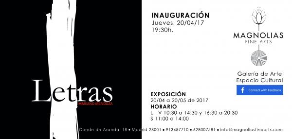Mariano Mendoza. Letras
