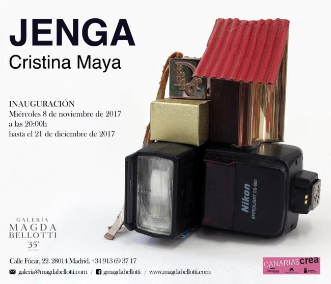 Cristina Maya. Jenga – Cortesía de la Galería Magda Bellotti