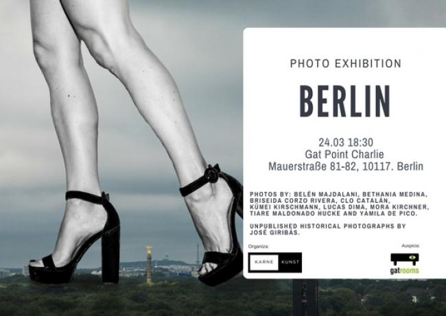 Flyer Berlin photo exhibition
