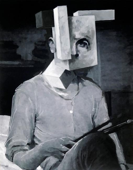 La artista