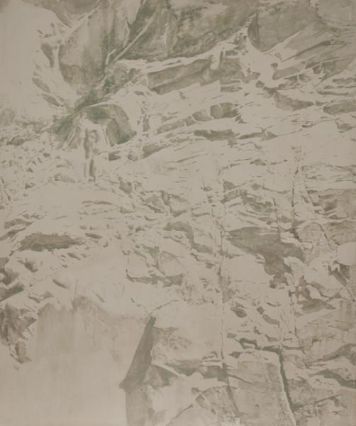 Javier Arbizu, Sin título. Temple graso sobre tela, 180x150 cm. -primer premio-