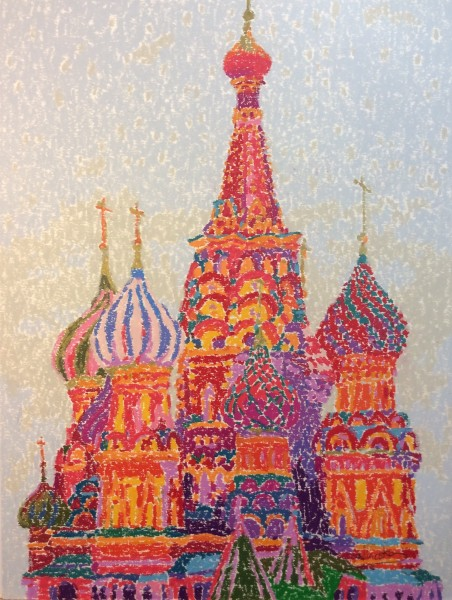 Ninoska de Gracia, Catedral de San Patricio. Moscú