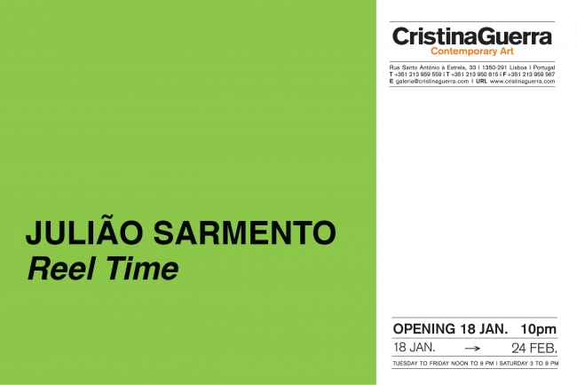 Julião Sarmento. Reel Time