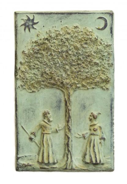 EL árbol del conocimiento, bronce