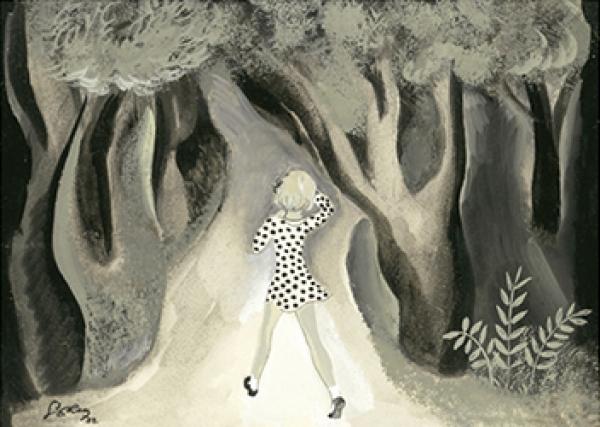 Serny, Celia dice... El bosque del ogro LXXII, 1932. Museo ABC