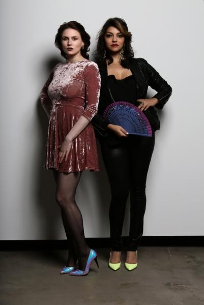 Curators Rebecca Pauline Jampol and Jasmine Wahi. Photo Courtesy of Anthony Alvarez