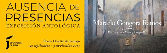 Banner horizontal | Ir al evento: 'Marcelo Góngora Ramos, Ausencia de presencias'. Exposición de Escultura, Fotografía, Pintura en Centro Cultural Hospital Santiago de Ubeda / Úbeda, Jaén, España