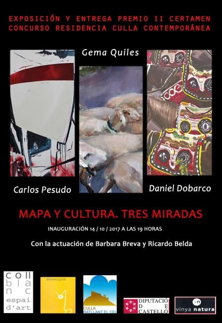 Mapa y cultura - Tres miradas