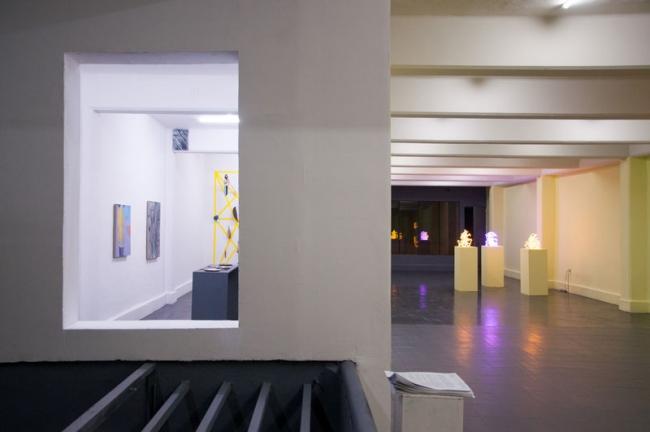 Vista de la exposición – Cortesía de la galería Karen Huber