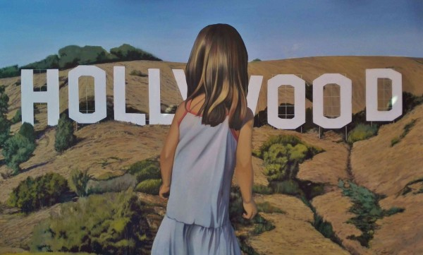 Esto no es Kansas, querida Dorothy. óleo sobre lienzo, 90 x 146 cm