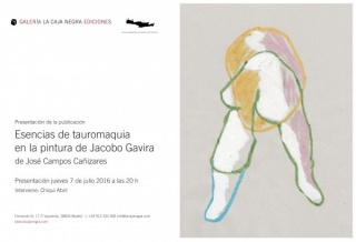 Esencias de la Tauromaquia en la pintura de Jacobo Gavira