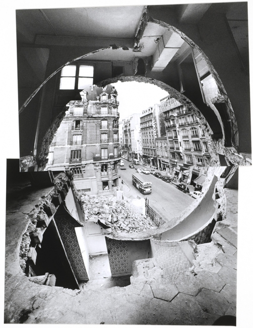 Conical Intersect, 1975 © 2017 Estate of Gordon Matta-Clark?/ Artists Rights Society (ARS), New York