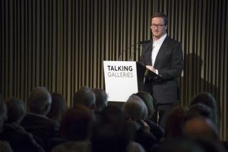 Thaddaeus Ropac, Barcelona Symposium 2017 – Cortesía de Talking Galleries