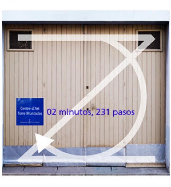 02 minutos, 231 pasos