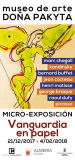 Vanguardia en papel. De Chagall a la Suite Vollard de Picasso