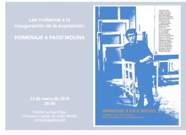 Homenaje a Paco Molina