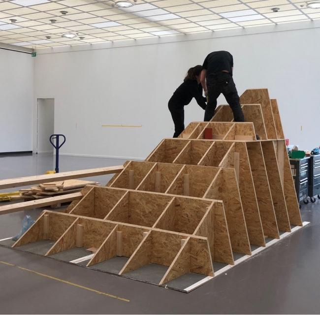 Imagen: abraham cruzvillegas, instalación de autorreconstrucción: social tissue, kunsthaus zürich, 2018. Cortesía del artista y kurimanzutto
