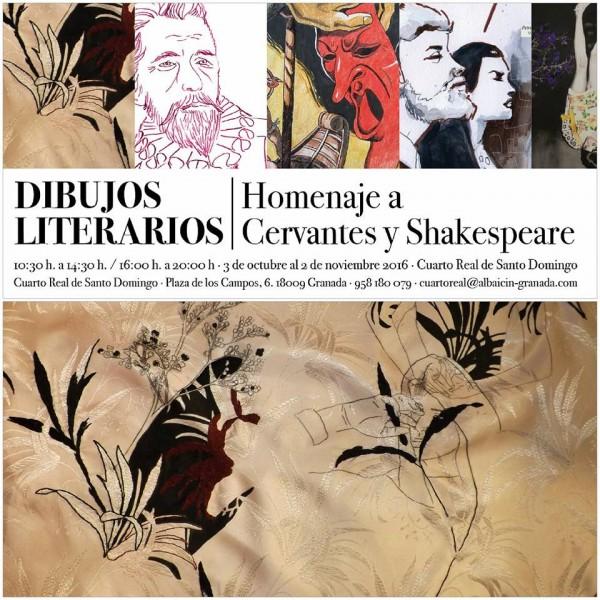 Dibujos literarios. Homenaje a Cervantes y Shakespeare