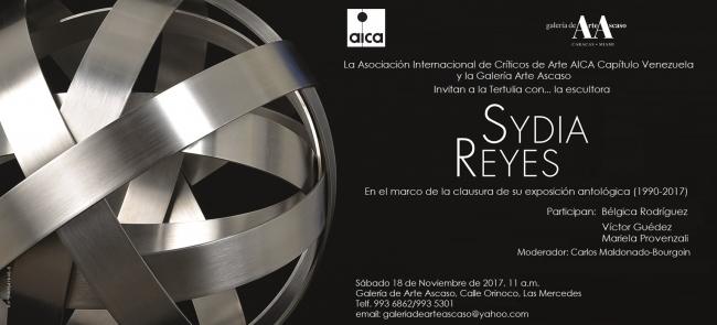Sydia Reyes - Cortesía Galería Ascaso   Ir al evento: 'Sydia Reyes'. Exposición en Ascaso / Caracas, Distrito Federal, Venezuela