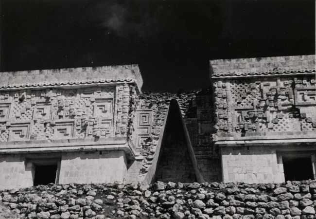Josef Albers, Untitled (Uxmal, Mexico), ca. 1940. Gelatin silver print, 12.9 x 18.3 cm. Solomon R. Guggenheim Museum, New York, Gift, The Josef and Anni Albers Foundation © 2016 The Josef and Anni Albers Foundation / Artists Rights Society (ARS), New York