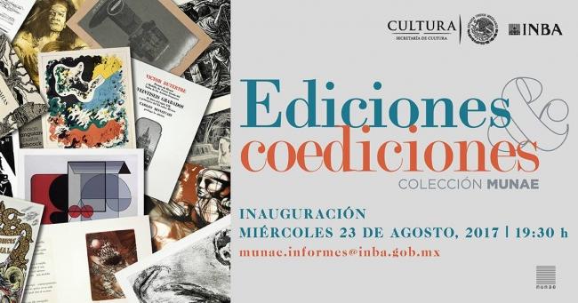 EDICIONES Y COEDICIONES. COLECCIÓN MUNAE