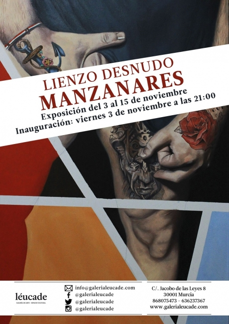 Guillermo Manzanares. Lienzo desnudo