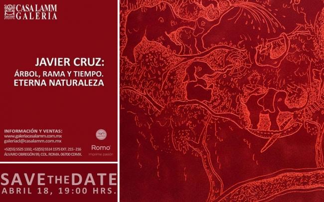 Javier Cruz: Árbol, rama y tiempo. Eterna naturaleza