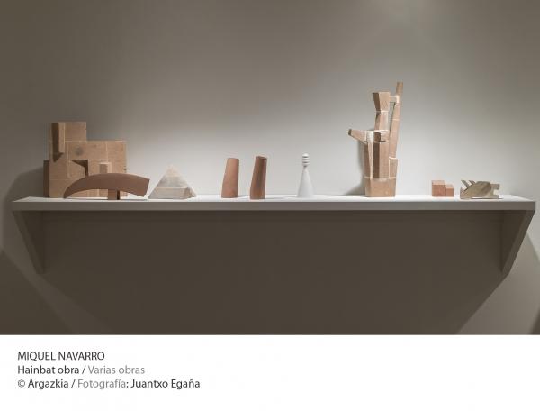 Miquel Navarro, varias obras © Fotografía: Juantxo Egaña